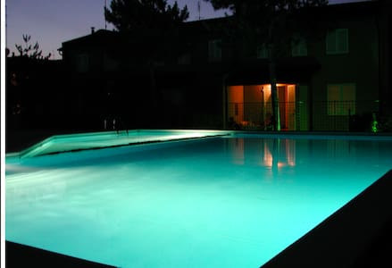 Apartment in residence with pool - Rumah