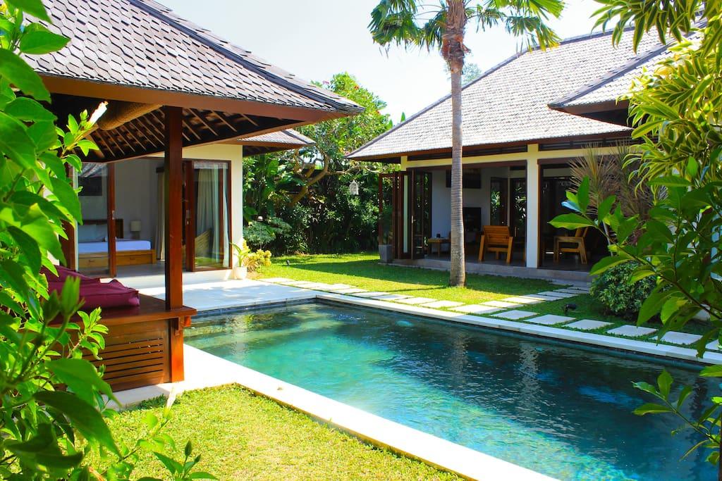 Villa Iris 1 , 2 br, pool, Seminyak