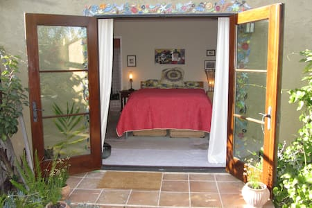 WOW!  Patio Garden & Master Bedroom - House