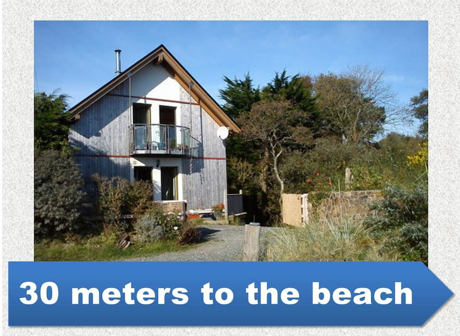 30 meters to the beach