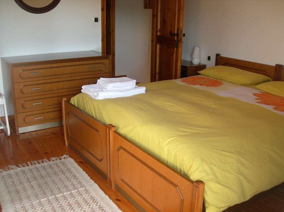 Double bed-room with its own bathroom