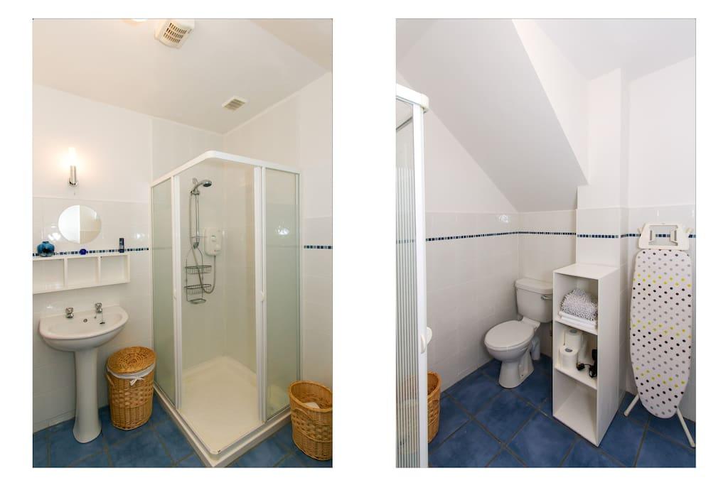 Visitors own bathroom