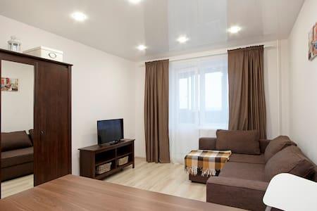 Видовая квартира-студия в новом доме - Byt