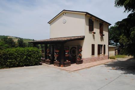 Villetta singola, giardino e piscin - Maison