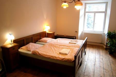 Příjemné ubytování na koňské farmě hrad Karlštejn - Apartment