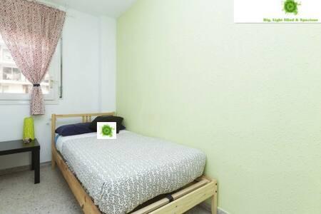 Habitación Luminosa, Chic y acogedora. - Apartment