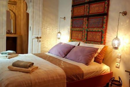 Jama Al Fna chambre sdb wc Tifawt - Marrakech  - Bed & Breakfast