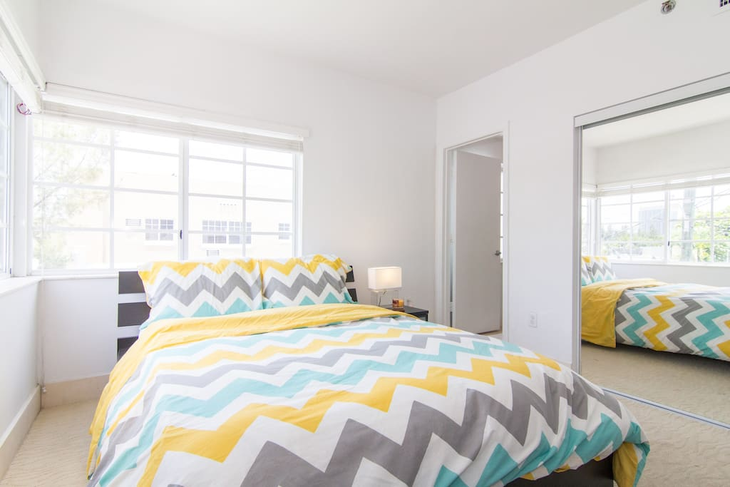 Master bedroom with a corner location! Great natural light.