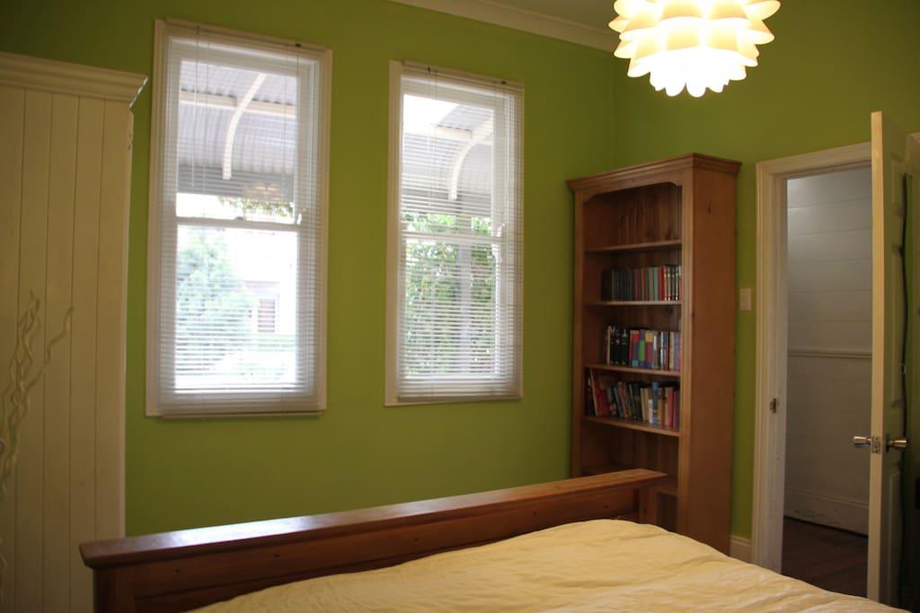 Bedroom #2 off entrance hall