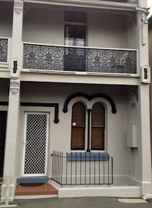 Historic terrace in Newcastle East - Hus