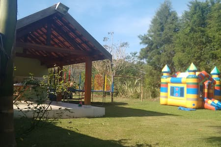 CHACARA COM PESQUEIRO - Campinas - Casa de campo