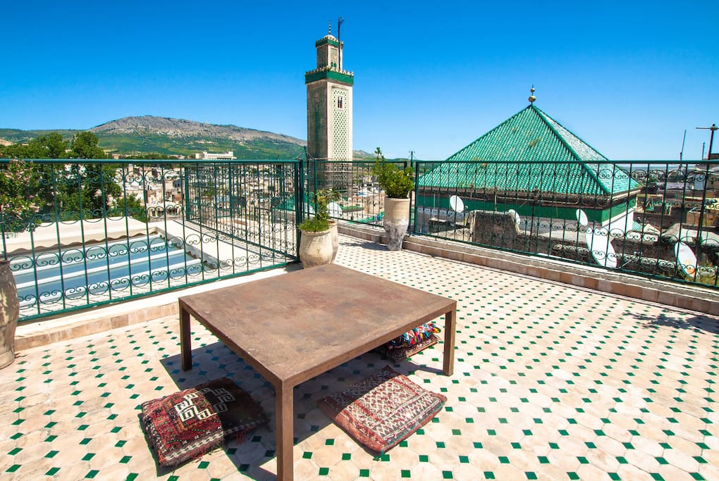 OUR DIVINE ROOFTOP TERRACE WITH 360 DEGREE PANORAMIC VIEW