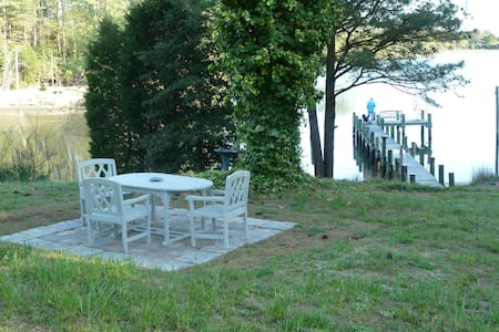 Secluded New Waterfront Cottage: Fish Canoe Kayak - Exmore - Chambres d'hôtes