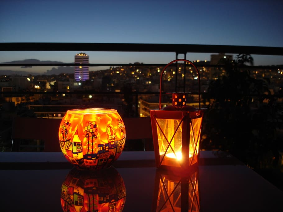 Romantic nights on the terrace...