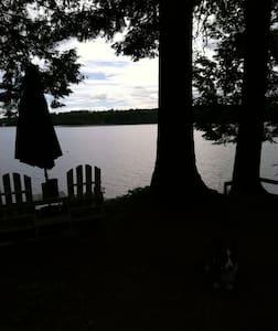 Wee White Cottage on Tripp Lake, Maine - Poland - Apartment
