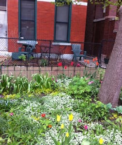 Wicker Park: Modern Garden Oasis - Chicago - Appartement