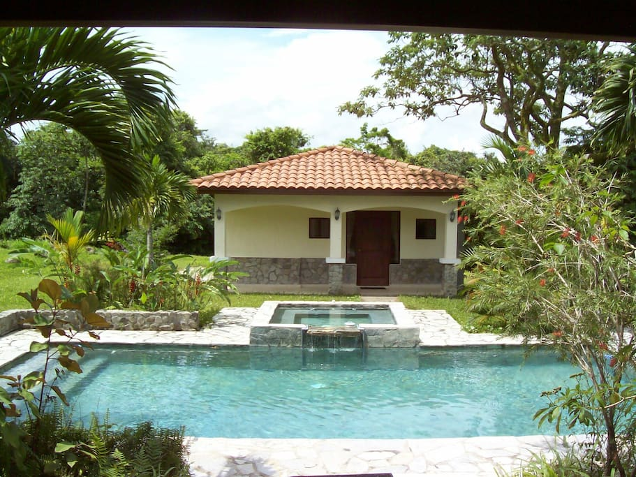 Casita and Pool area