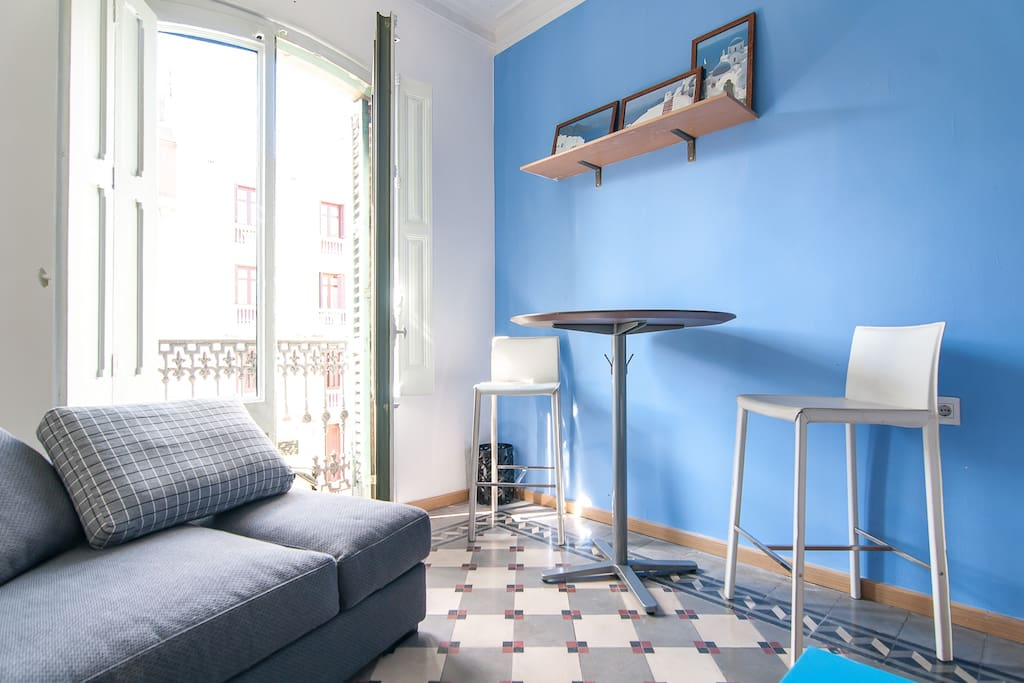 Relaxing-blue design double room