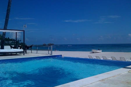 AFFORDABLE 3BDR BEACHFRONT W/POOL