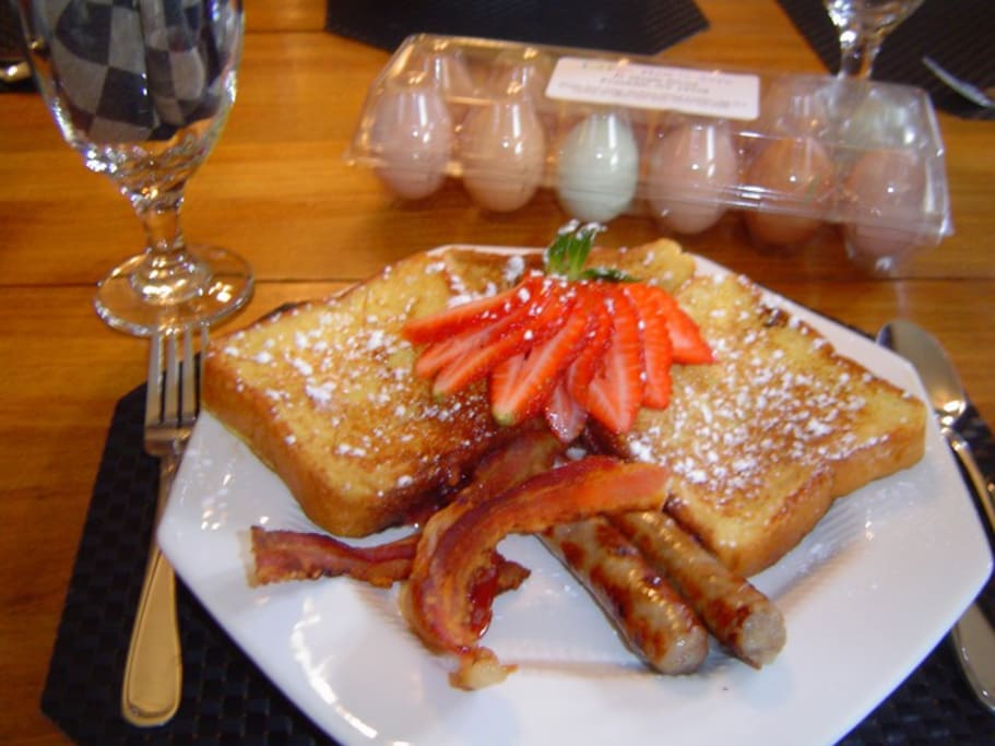 Stuffed French Toast :)