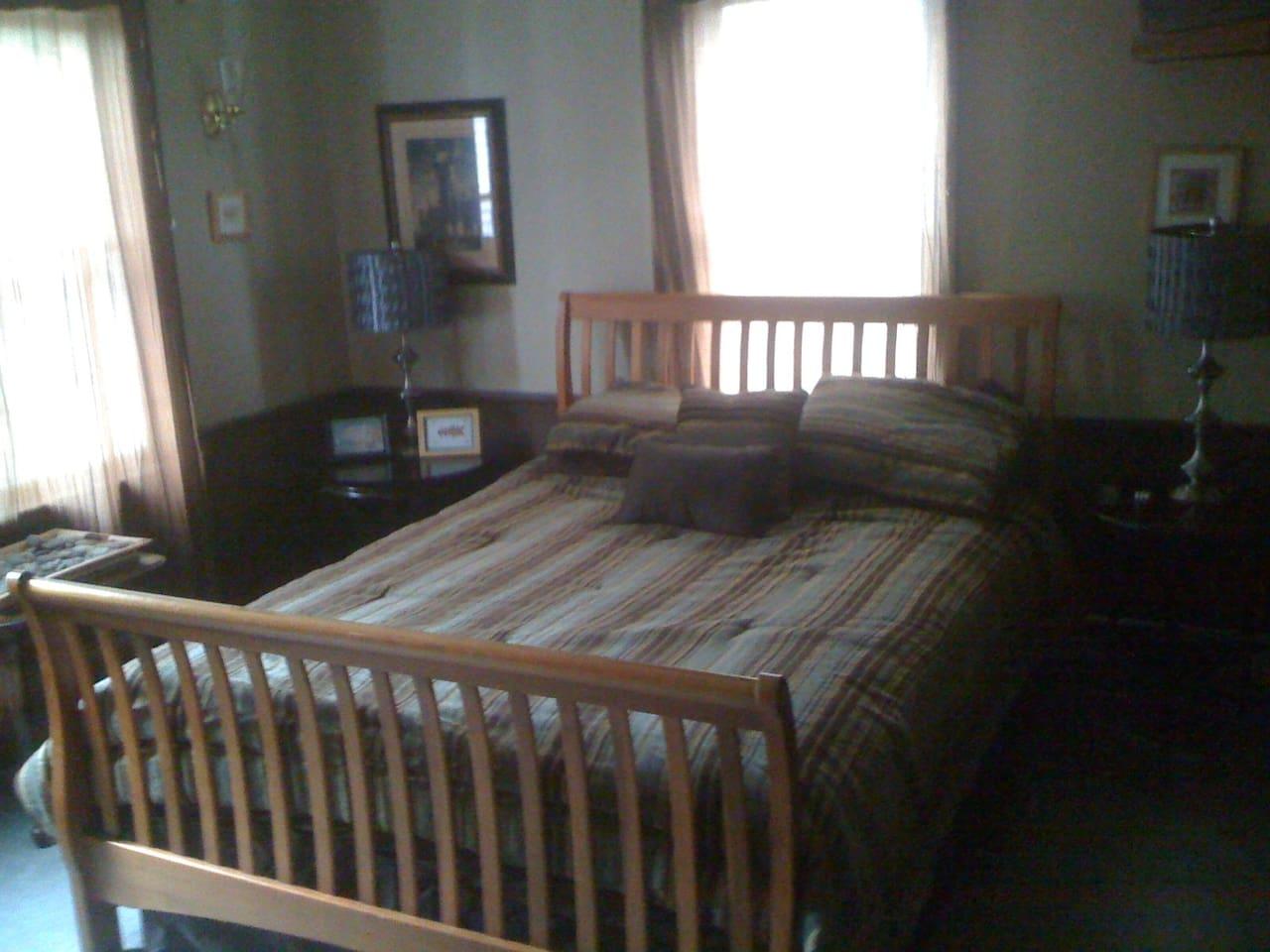 Provincetown Tan Queen Bedroom