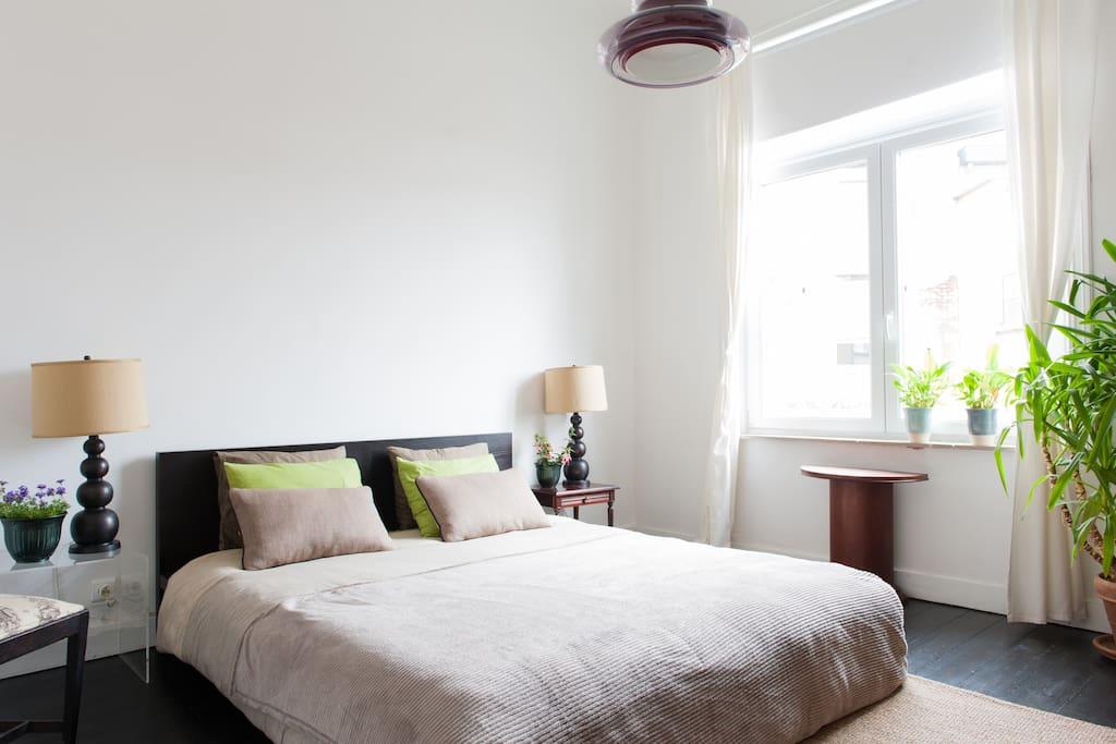 Bedroom 2P Brussels, bld du Jubilé