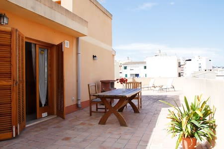 Bright atic with terrace in Palma