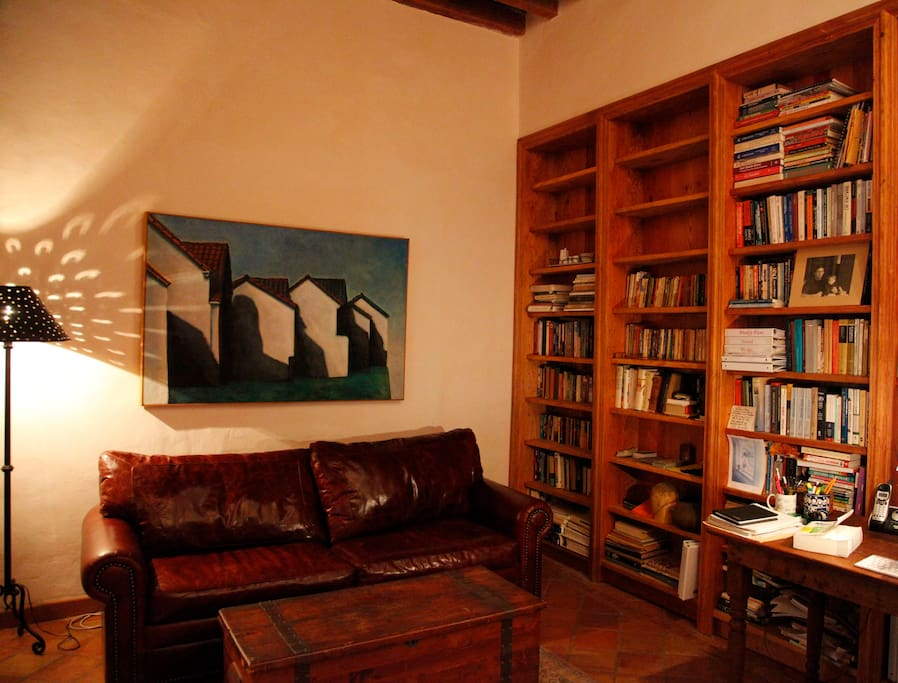 the library/study