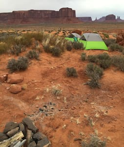 Primitive Camping - Oljato-Monument Valley - Tenda
