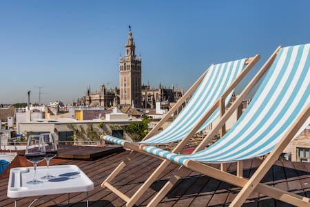 GORGEOUS TERRACE JUST FOR YOU!! - Seville - Apartment
