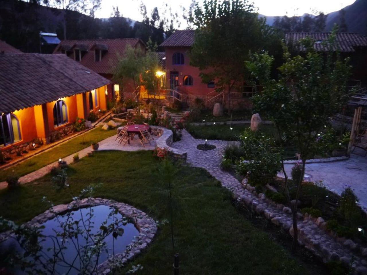 Main view garden