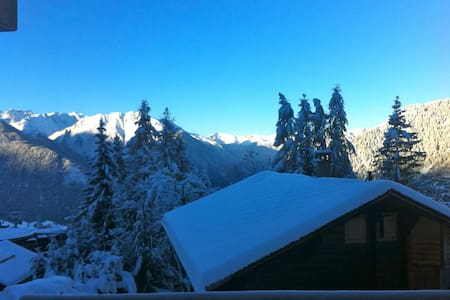 Centrally located studio in Verbier