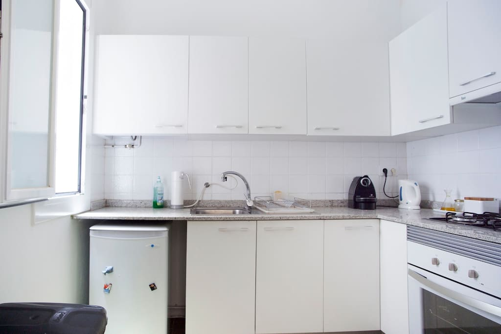 The kitchen that you are free to make full use of
