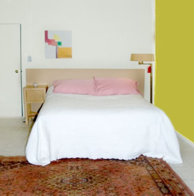 Bedroom - This is a Queen Sized bed - Furniture lay-out is subject to change.