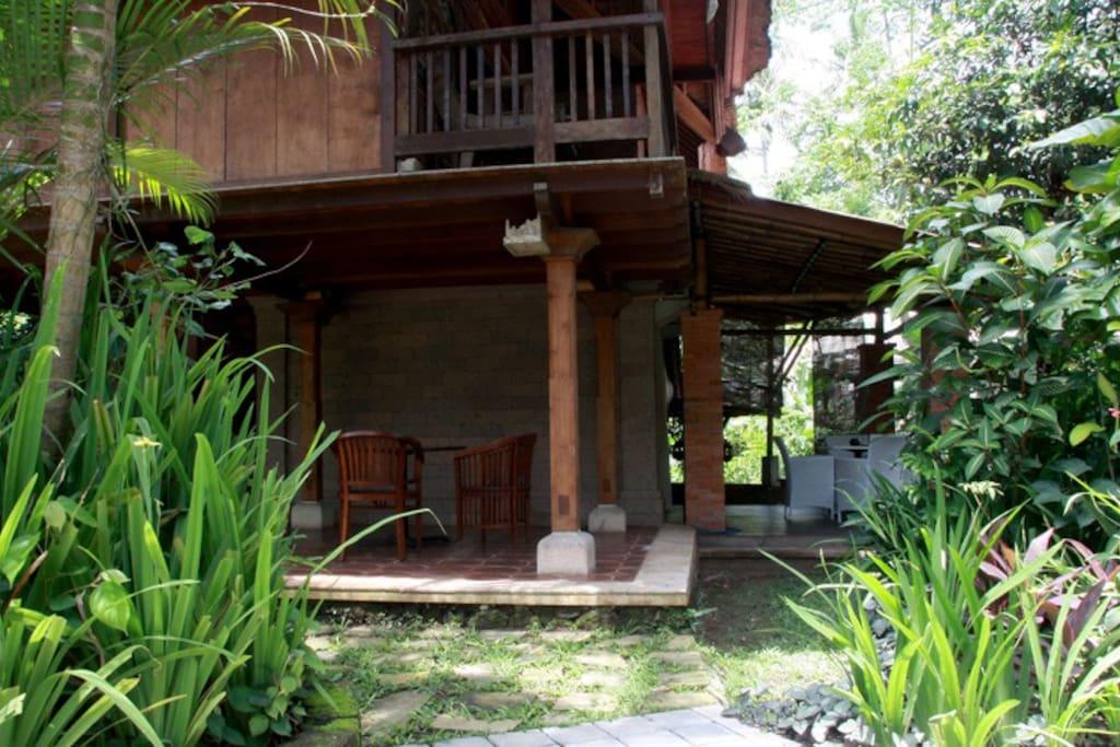 Relaxing view at Bona Village Inn