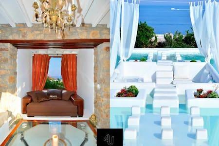 Villa Nefeli sleeps up to 18 people, all amenities - Willa