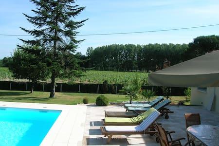 Chambres d'hôtes Vignoble Océan - La Brède - Bed & Breakfast