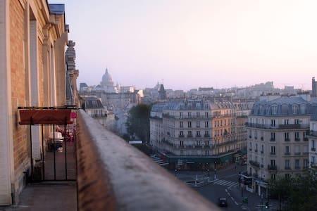 Room, balcony & amazing view - 5th - Paris - Apartment