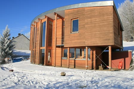 Spacious, modern and passive house - House