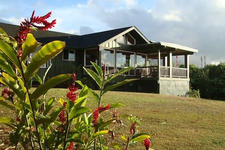 Oceanview Farmhouse Northshre Kauai