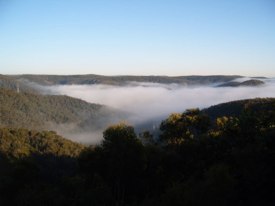 Early morning - view from rear deck