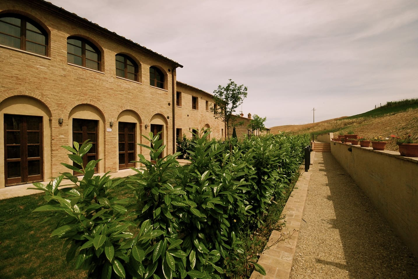 Charming country property in Siena