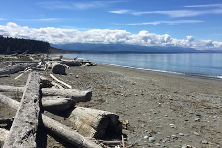 Large Sequim home with  mountain and water views. - Секим