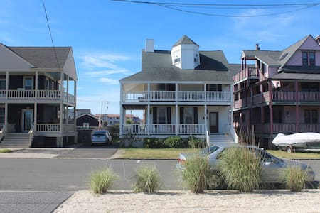 Great Beach Rental for families - 1 blk from Beach - House