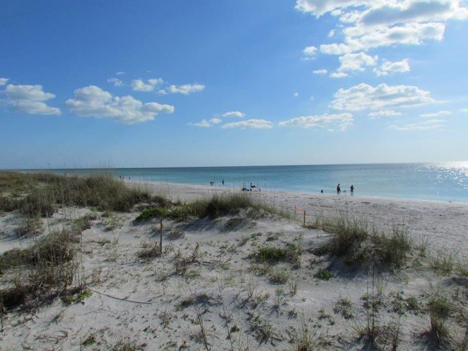 3/2 Home w/ Garage...Walk To Beach!