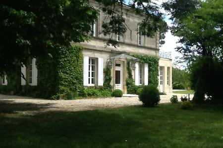 Belle demeure au milieu des vignes - Huis