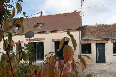 longère plein sud - renovated farm - Mareau-aux-Prés - House