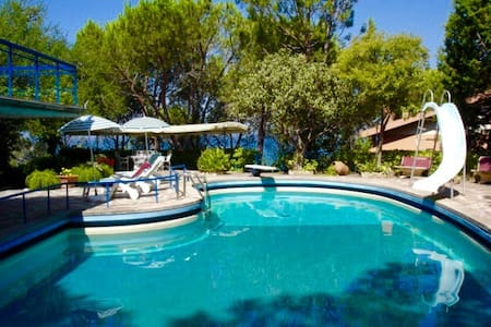 Suite for 2 + 1 in villa with seawater pool - Monte Argentario - Bed & Breakfast