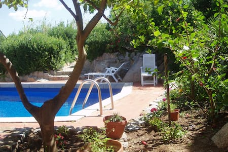4 houses priv.pool 200m from sea - House