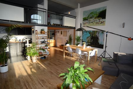 Cool loft style apartment in trendy east london - Londres - Loft